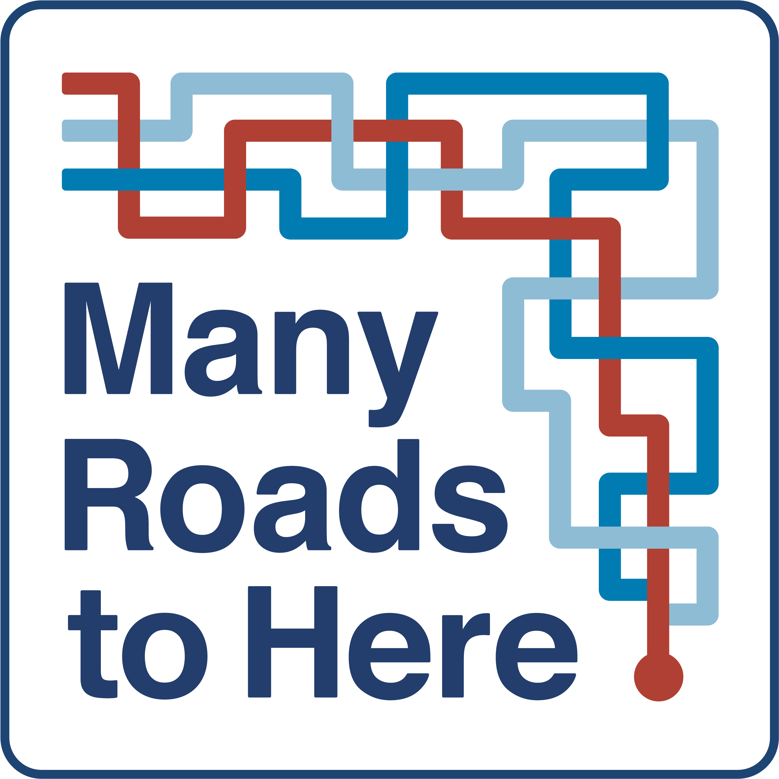 Many Roads to Here